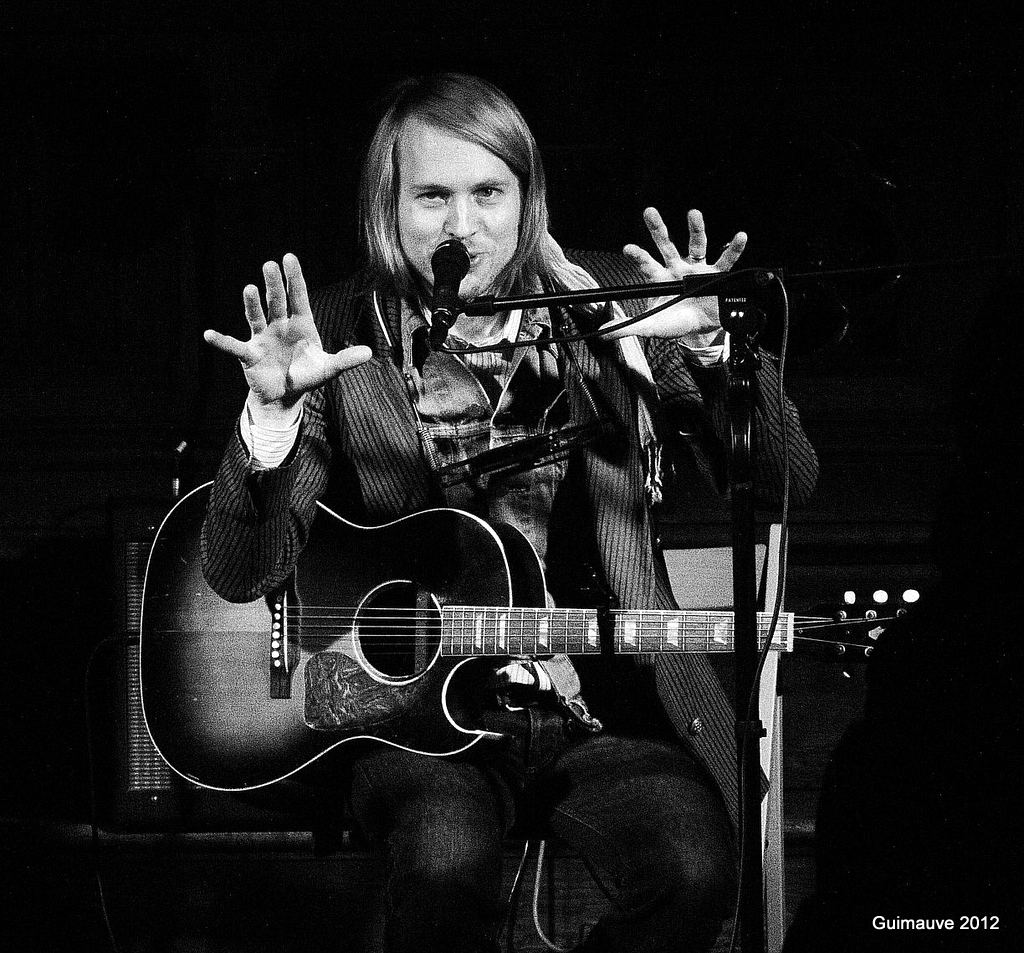 Peter Von Poehl en concert au Temple Lanterne, Lyon - 13.04.2012