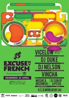 Excuse My French @ La Bellevilloise, Paris, le 20 avril 2012