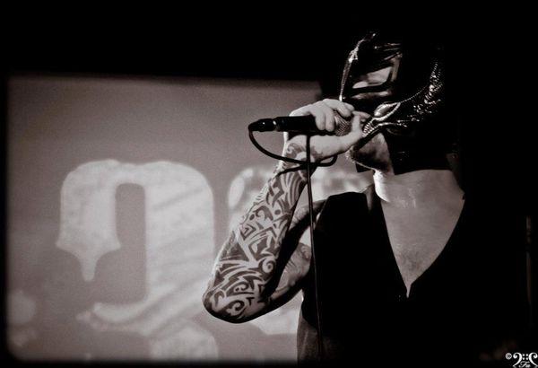 Rorscharch lors de son premier live avec 6:33