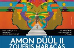 Nuit Ouf #4 au 104 avec Amon Duul II