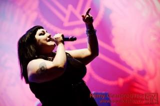 Photos concert : Gossip @Vieilles Charrues #21, Carhaix | 22 juillet 2012
