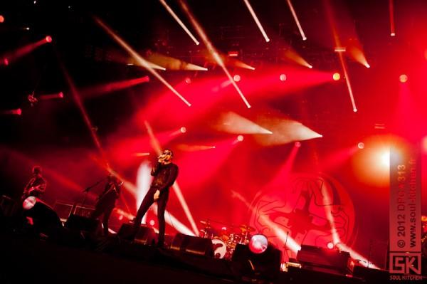 Photos concert : Kasabian @ Main Square Festival, Arras   29 juin 2012