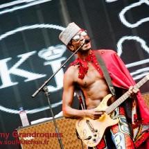 Photos : Keziah Jones @ Vieilles Charrues 2012, 19 juillet 2012