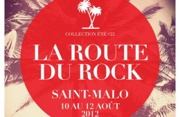 Affiche Route du Rock 2012