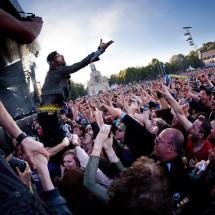 Photos concert : Shaka Ponk @ Main Square Festival, Arras   01 juillet 2012