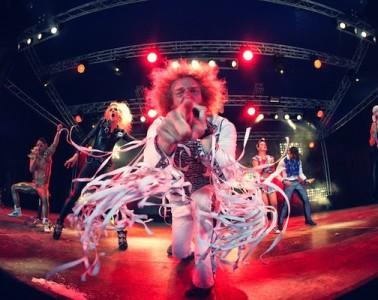 Photos concert : Airnadette @ Paléo Festival 2012. 21-07-2012