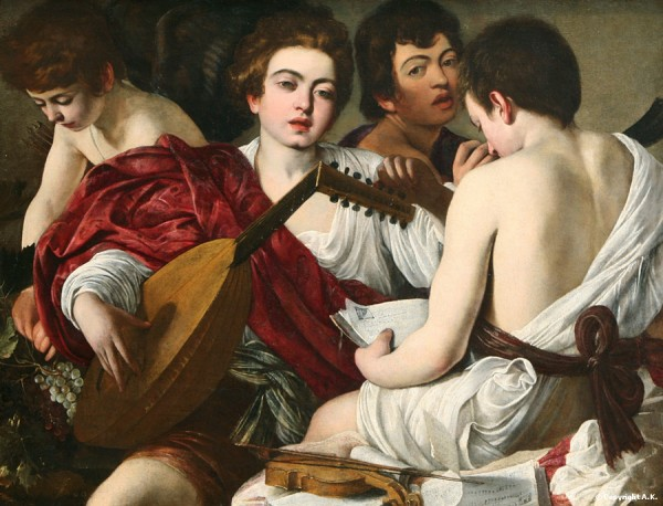 Le Caravage - Les musiciens