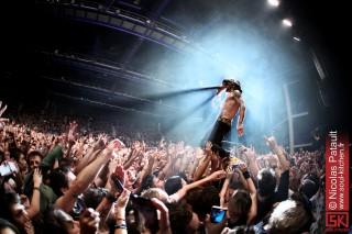 Photos concert : Shaka Ponk @ Zénith, Nantes | 26.10.2012