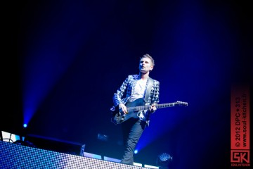 Photos concert : Muse @ Palais omnisports de Paris-Bercy, Paris | 18 octobre 2012