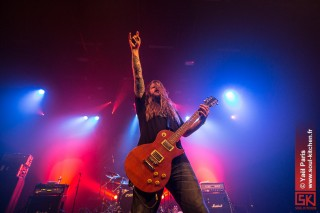 Photos concert : Entombed @ L'Autre Canal, Nancy | 02.11.2012