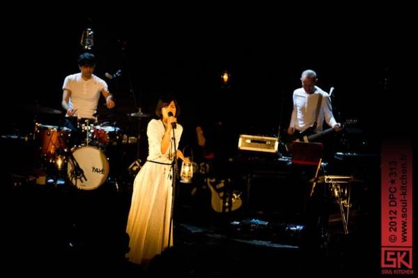 Photos concert : Bat for Lashes @ le Trianon, Paris | 25 novembre 2012