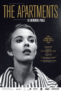 The Apartments - Affiche Pascal Blua