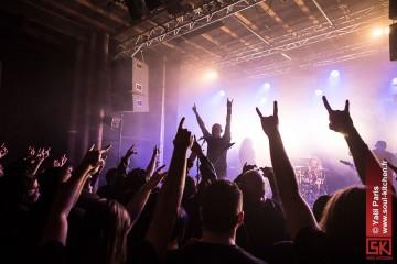 Photos concert : Haunting The Chapel - Loudblast @ Les Trinitaires, Metz | 25 janvier 2013