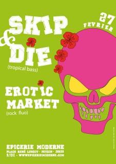 Erotic Market à L'Epicerie Moderne