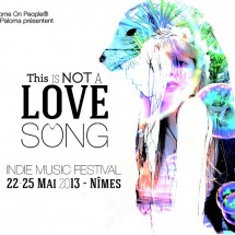 NOT a love song festival, des goodies à gagner !