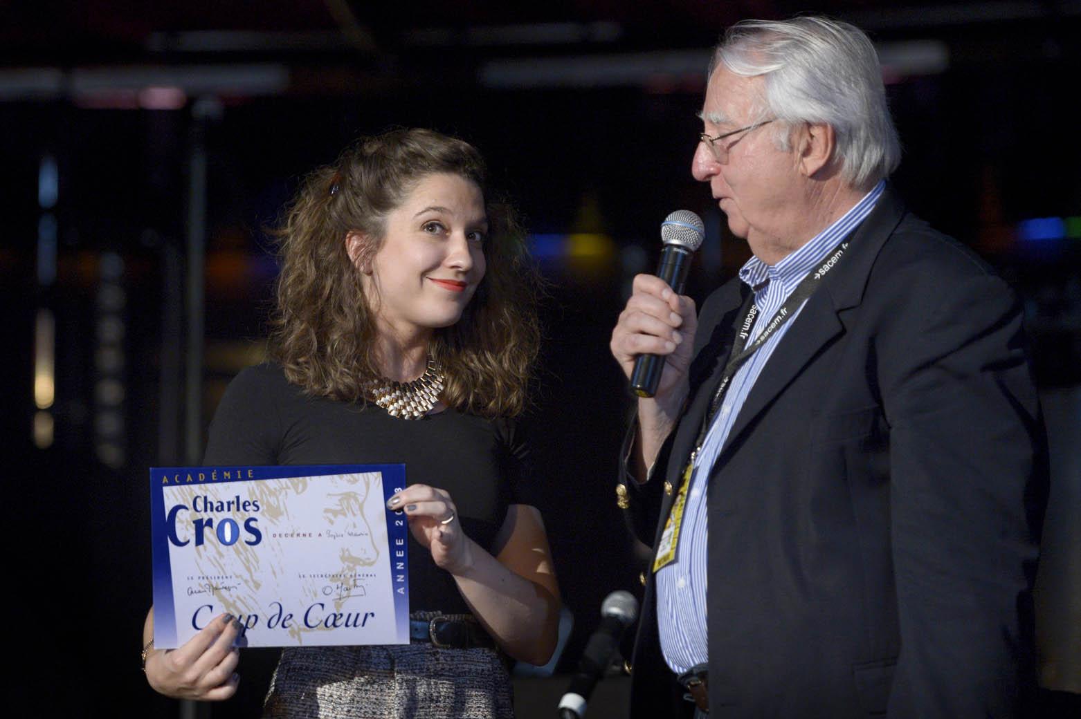 Sophie Maurin, l'une des lauréates © Francis Verhnet