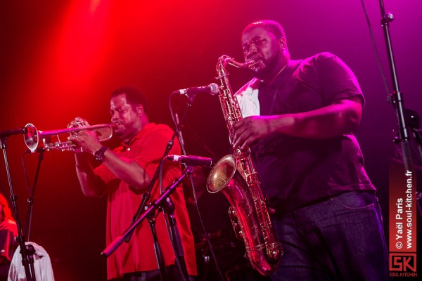 Photos concert : The Soul Rebels + Heymoonshaker @ L'Autre Canal, Nancy | 7 mai 2013