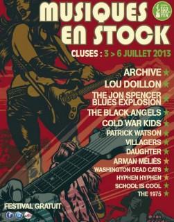 Musiques en Stock 2013