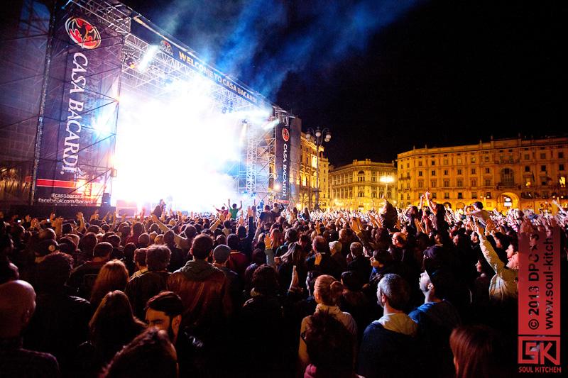 Photos concert : Kasabian @ Casa Bacardi Live, Milan | 30.05.2013