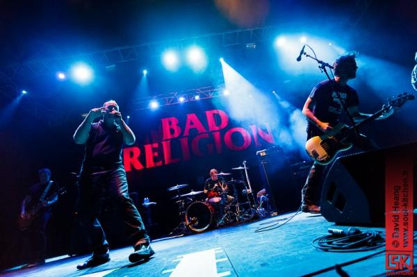 Photos concert : Bad Religion @ Transbordeur, Lyon - Villeurbanne | 25 juin 2013