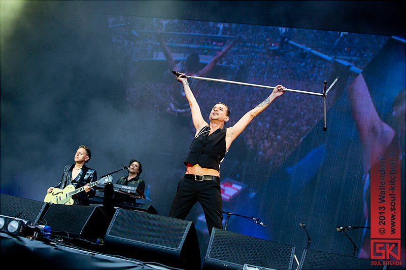 Photos concert : Depeche Mode @ Stade de France, Saint-Denis | 15.06.2013