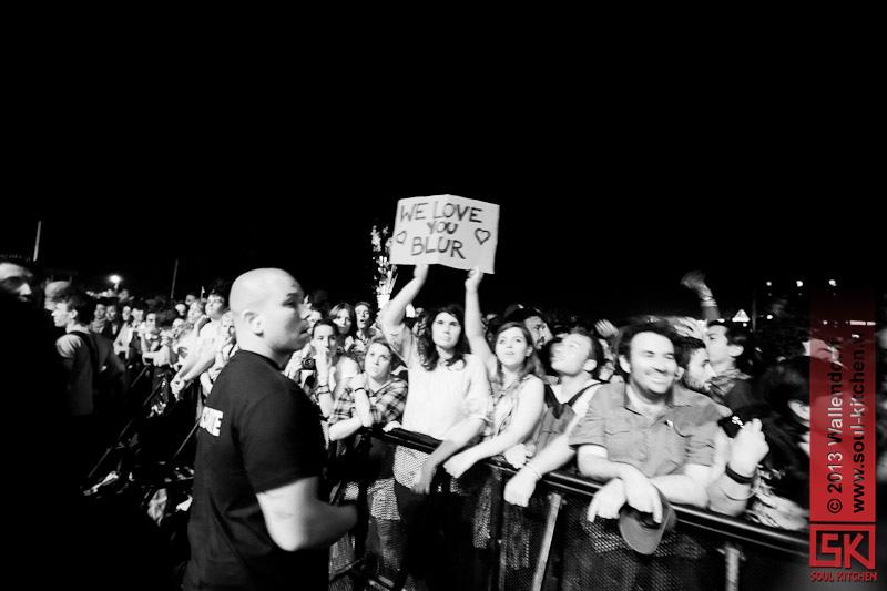photos concert : Blur @ Les Eurockéennes, 07.07.2013