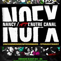 NOFX et Uncommonmenfrommars à l'Autre Canal
