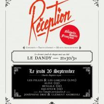 Reception - Charles-Baptiste