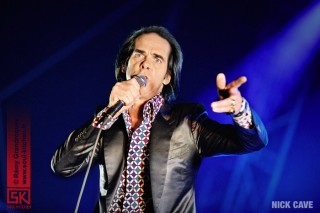 photos concert : Nick Cave @ La Route du Rock 2013