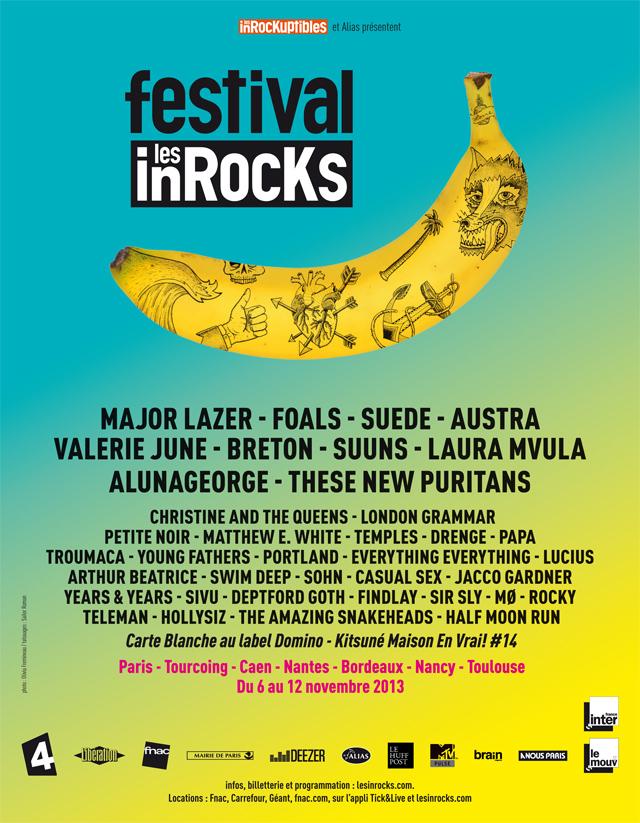 festival des Inrocks 2013