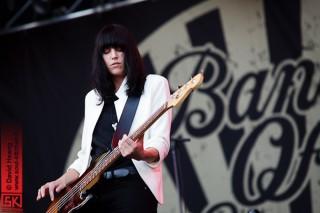 Band Of Skulls en concert au festival Musilac 2012