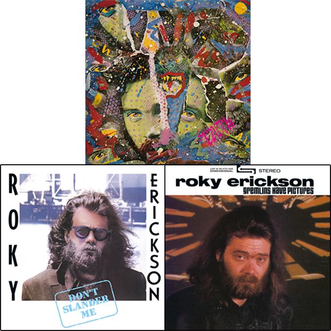 Roky Erickson - réédition de 3 albums