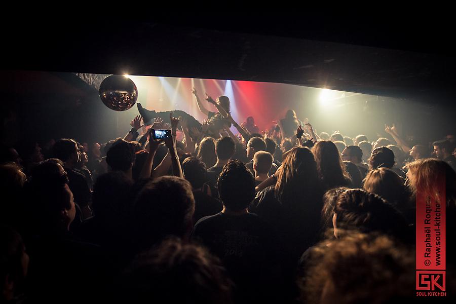 Photos de concert : Turisas + Starkill @ Connexion Cafe, Toulouse   02.02.2014