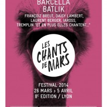 3X2 places pour les Chants de Mars à Lyon