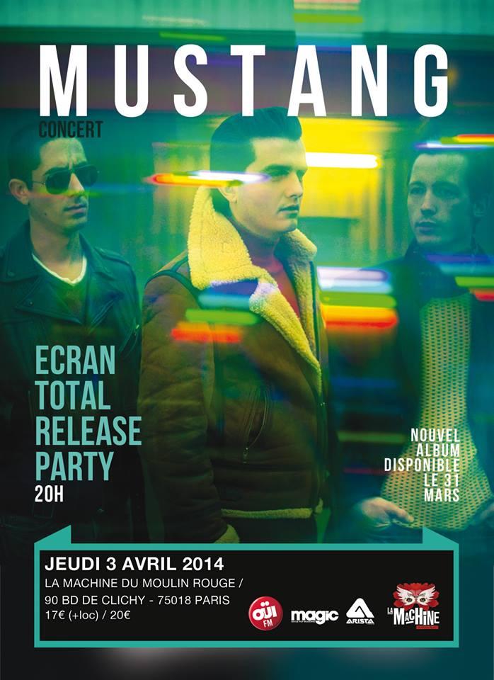 Mustang en concert