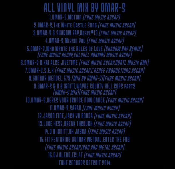 Omar S - 10 Year Compilation Mix Part 1