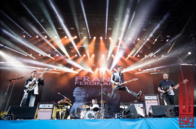 photos de concert : Franz Ferdinand @Les Eurockéennes de Belfort (05.07.2014)