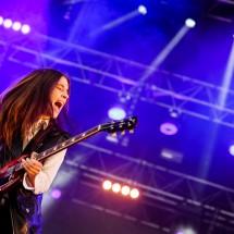 Photos de concert : Haim @ Musilac, Aix les Bains   12 juillet 2014