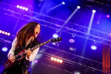 Photos de concert : Haim @ Musilac, Aix les Bains | 12 juillet 2014