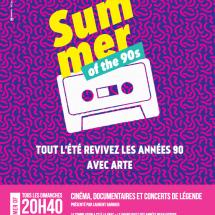 Summer of the 90's sur Arte
