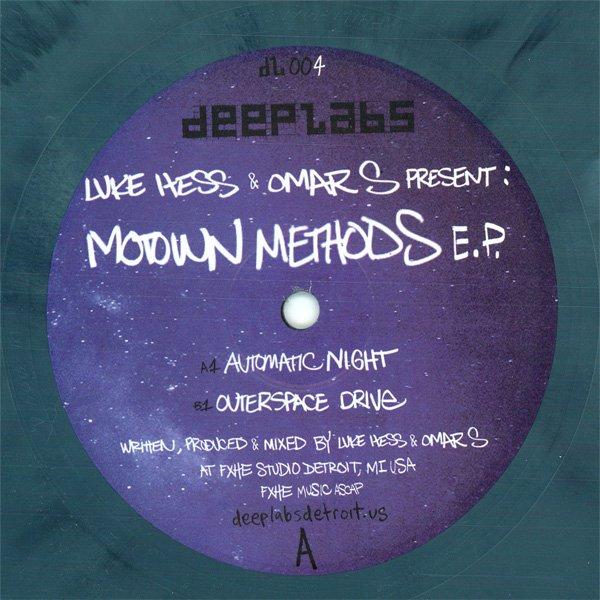 Luke Hess & Omar S - Motown Methods E.P.
