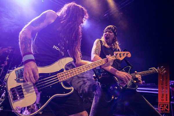 Photos + report : Steve Harris British Lion @ Le Metronum, Toulouse | 15.07.2014
