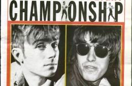 Blur Vs Oasis in NME, 1995