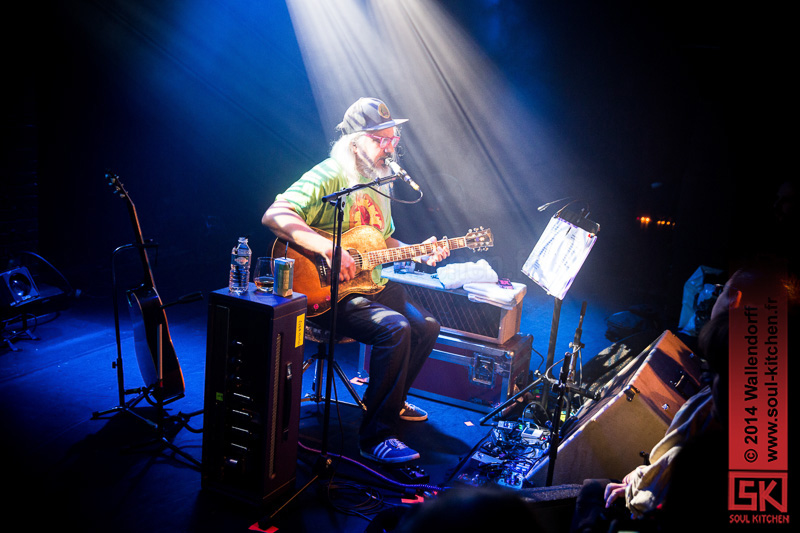 Photos concert : Jay Mascis @ Soirée Sub Pop – Winter Camp Festival @ la Maroquinerie, Paris | 12.12.2014