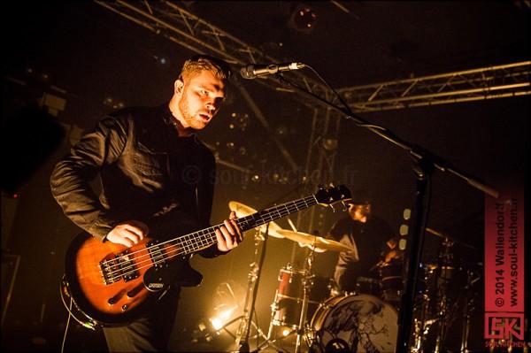 Photos : Royal Blood @ Bring the Noise Festival, le Point Éphémère, Paris | 18.12.2014