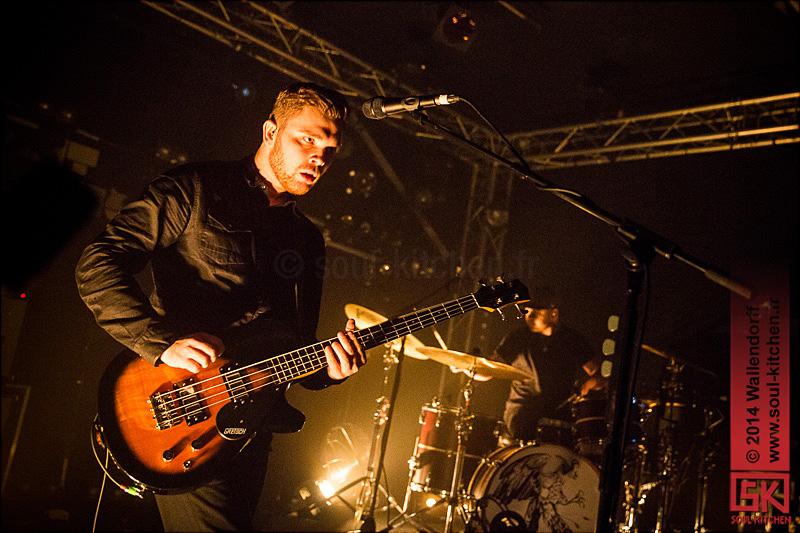 Photos concert : Royal Blood @ Bring the Noise Festival, le Point Éphémère, Paris | 18.12.2014