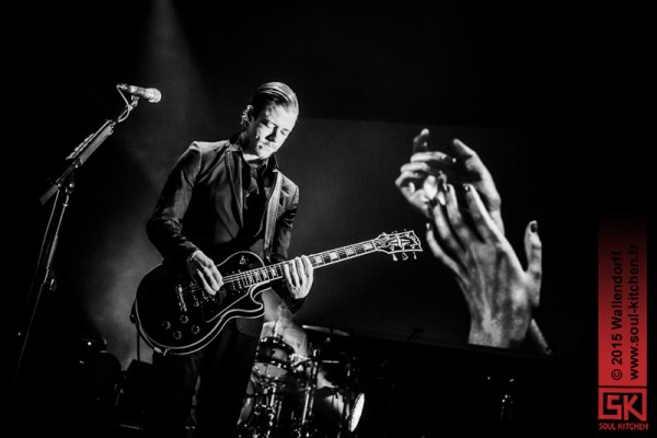 Photos concert : Interpol @ l'Olympia, Paris | 27.01.2015