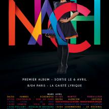 3X2 places pour Nach au Kao à Lyon