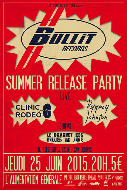 Bullit Records Party