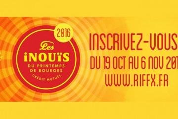 Les iNOUïS 2016 - INSCRIPTIONS
